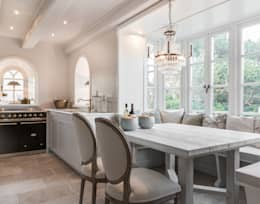 country Dining room by Home Staging Sylt GmbH