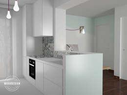 Witte Minimalistische Woonkeuken : Een witte keuken inspirerende voorbeelden