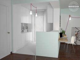 minimalistic Kitchen by moovdesign
