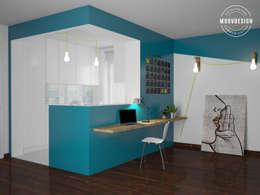 Cocinas de estilo minimalista por moovdesign
