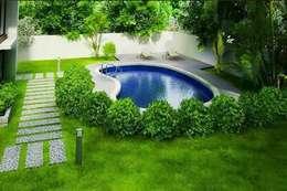 modern Garden by GREENLİNE PEYZAJ