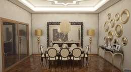 Sonmez Mobilya Avantgarde Boutique Modoko – Domiklasik Salon Projesi / Özel: klasik tarz tarz Yemek Odası