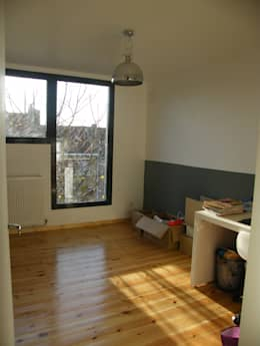 Chambre neuve au deuxième étage:  de style  par AB+ARCHI
