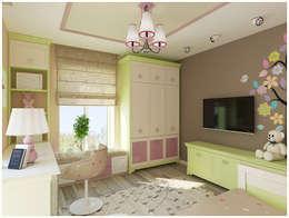 Quarto infantil  por NK-Line I Natascha Kuzmenko I Modernes Interior Design