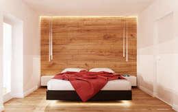 Recámaras de estilo minimalista por Ale design Grzegorz Grzywacz
