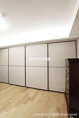 이태원 청화아파트 58평형: MID 먹줄의  침실