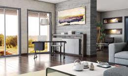 FARGO DESIGNS – URLA VILLA PROJESI: modern tarz Oturma Odası