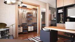 FARGO DESIGNS – URLA VILLA PROJESI: modern tarz Yatak Odası