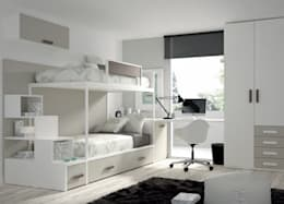 minimalistic Bedroom by MUEBLES DUERO