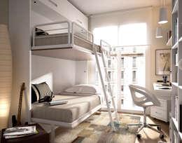 modern Bedroom by MUEBLES DUERO