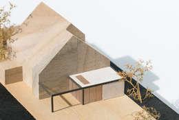 Maquette:   door Hoope Plevier Architecten