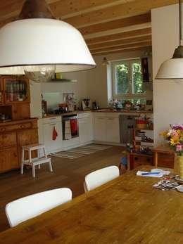 Projekty,  Kuchnia zaprojektowane przez Neues Gesundes Bauen