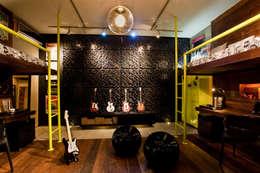 Детские комнаты в . Автор – studio scatena arquitetura