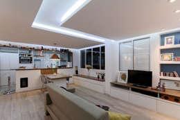Phòng khách by Raphael Civille Arquitetura