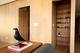 Departamento DG: Vestíbulos, pasillos y escaleras de estilo  por Concepto Taller de Arquitectura