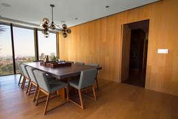 Departamento DG: Comedores de estilo moderno por Concepto Taller de Arquitectura