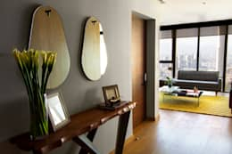 Corridor & hallway by Concepto Taller de Arquitectura