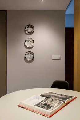 Salle à manger de style de style Moderne par Concepto Taller de Arquitectura