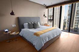 Cuartos de estilo moderno por Concepto Taller de Arquitectura