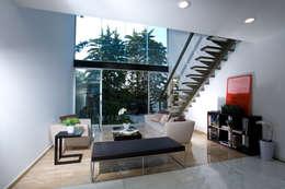 TREVOX: Salas multimedia de estilo moderno por Craft Arquitectos