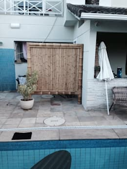 Casas de estilo rústico por Bambu Rei Eco-Design