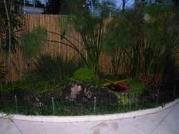 Jardines de estilo  por Bambu Rei Eco-Design