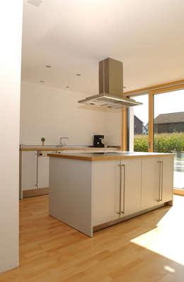 Projekty,  Kuchnia zaprojektowane przez 5 Architekten AG