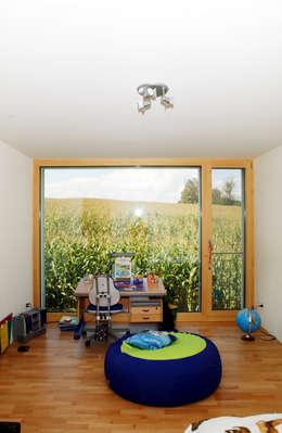 Projekty,  Pokój dziecięcy zaprojektowane przez 5 Architekten AG