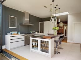 Perryn Road: modern Kitchen by ReDesign London Ltd