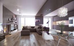 Salas de estilo escandinavo por SMAG design