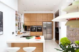 Fielding Road: modern Kitchen by Hamilton King