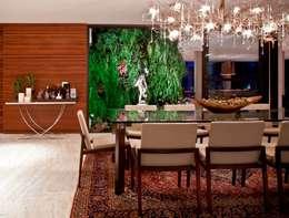 Residência Nova Lima - MG: Jardins de inverno modernos por CP Paisagismo