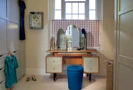 eclectic Dressing room by ReDesign London Ltd