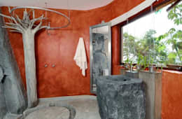 Villas Mandarinas: Baños de estilo  por CASA MÉXICO