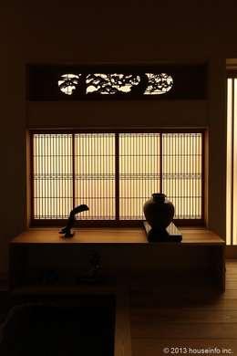 築39年の我が家に後30年快適に住まう!(リフォーム): (株)ハウスインフォが手掛けた廊下 & 玄関です。