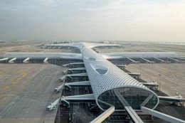 Aeropuertos de estilo  por Knippers Helbig Advanced Engineering