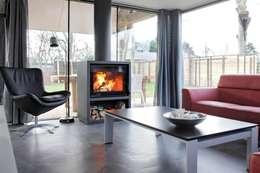 modern Living room by Bongers Architecten