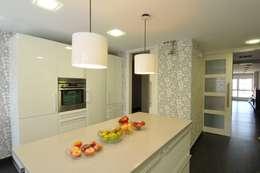 10 fant sticas ideas para las paredes de tu cocina - Papeles vinilicos para cocinas ...