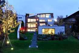 modern Houses by zone architekten