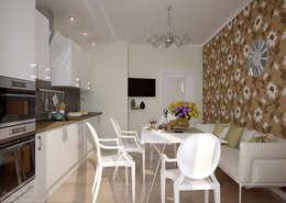 Cozinhas modernas por Студия интерьерного дизайна happy.design