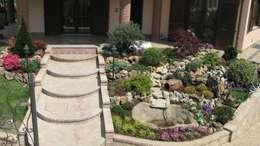 rustikaler Garten von Azienda agricola Vivai Romeo