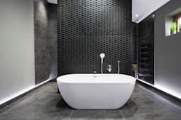 modern Bathroom by Lisa Melvin Design