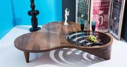 İBELYA GROUP DAN. DIŞ TİCARET – PL-007 Coffee Table: modern tarz Oturma Odası