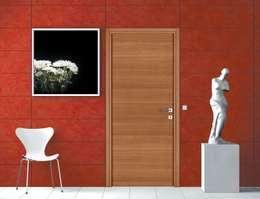 Modèle A Finition Chêne Naturel: Fenêtres & Portes de style de style Moderne par GAÏALYS
