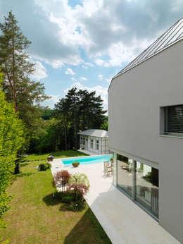 Projekty,  Ogród zaprojektowane przez Moser Architects