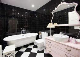 Baños de estilo clásico por PRIBURGOS SLU
