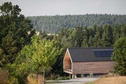 Projekty, nowoczesne Domy zaprojektowane przez g.o.y.a. Architekten
