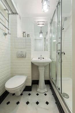 Тишинка 28.8: Ванные комнаты в . Автор – Мария Дадиани