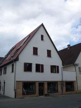 Ansicht Straßenseite nachher:   von Kurt R. Hengstler GmbH