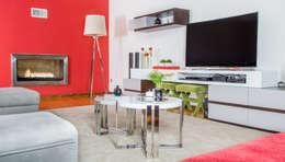 eclectic Living room by Ângela Pinheiro Home Design